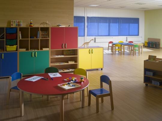 Ambientes infantil industrias tagar dise o for Muebles colegio